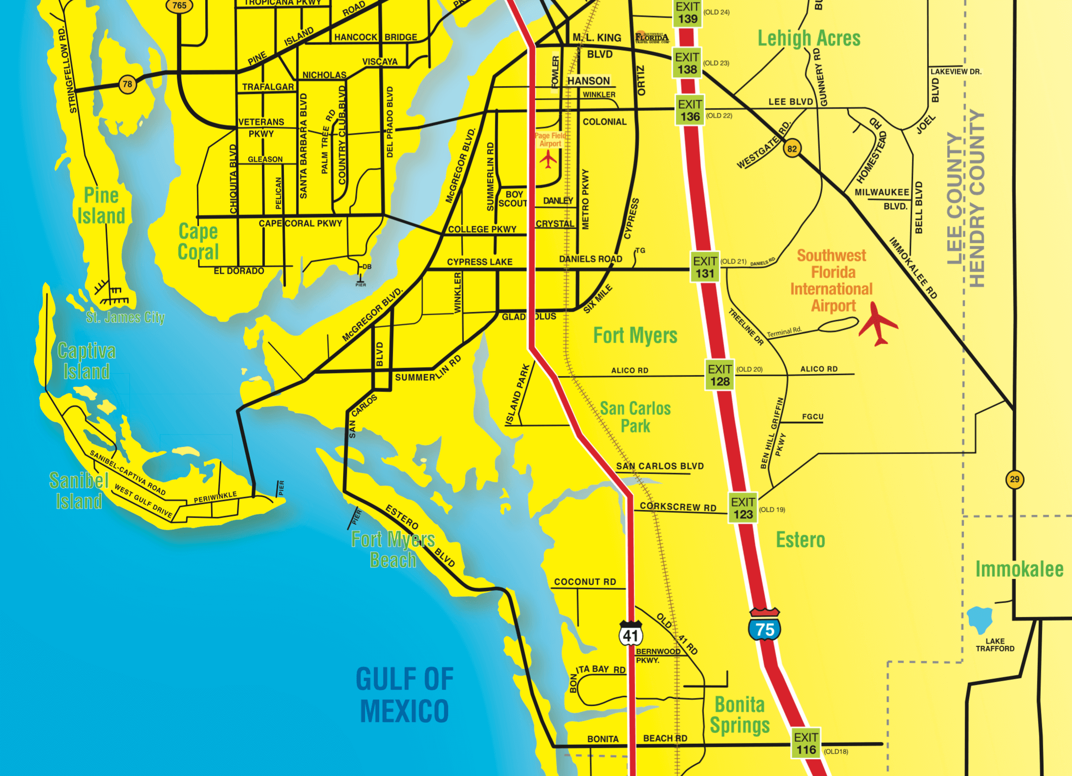 Florida Maps Southwest Florida Travel